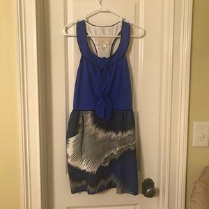 Thread Social blue multi colored dress